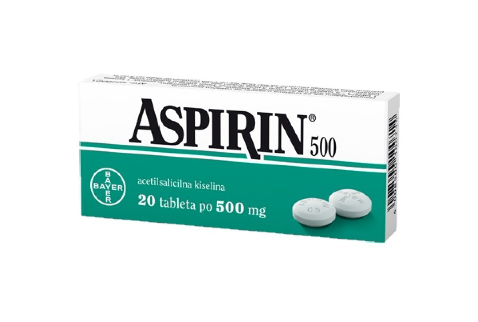 Aspirin 500 je proizvod Bayer firme