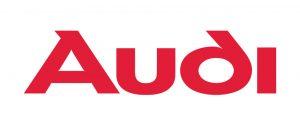 Logo znak Audi: naziv firme