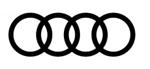 Audi zaštitni znak firme: 4 spojena kruga