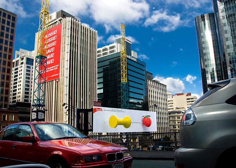 Billboard Pascall firme u Auckland-u, Novi Zeland