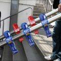Drške stepenica ručke stonog fudbala reklamiranje Carlsberg piva sličica