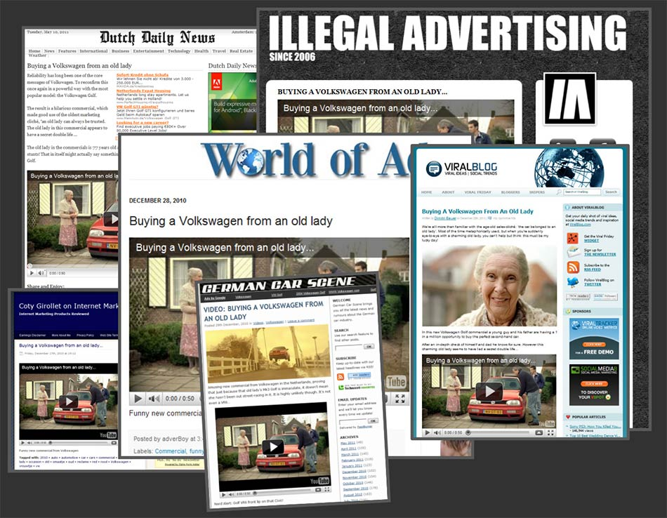 Dutch Daily News, Illegal advertising, ViralBlog... magazini vesti: reklamiranje-firme Volkswagen