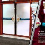 Gumeni brisači čiste vrata supermarketa: reklamiranje Colgate Ajax - sličica