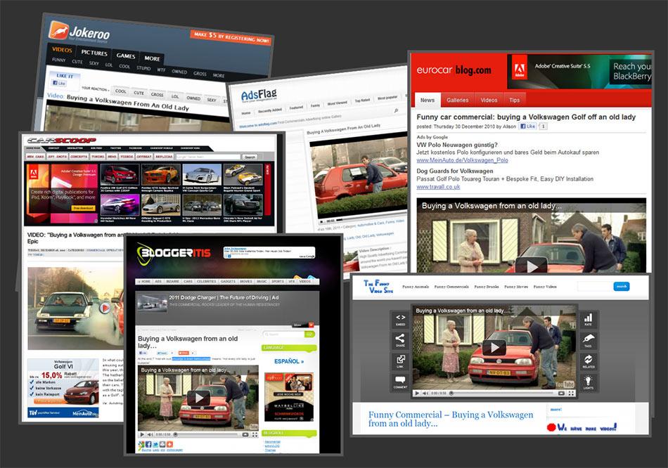 Jokeroo, AdsFlag, Eurocar blog, CarScoop,... magazini vesti: reklamiranje-firme Volkswagen