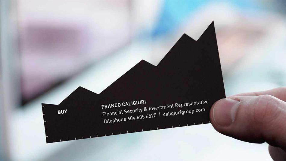 Kupi crna strana vizit kartice reklamiranje CCF firme