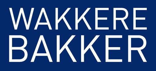 Logo firme Wakkere Baker