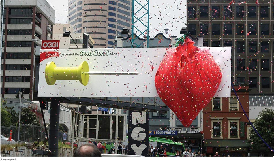 Momenat pucanja jagode balona - probadanje iglom balona