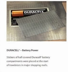 Nalepnice poklopca i baterija: reklamiranje Duracell firme