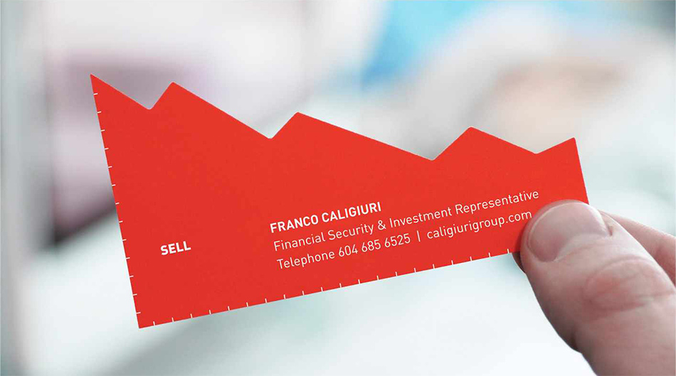 Prodaj crvena strana vizit kartice reklamiranje CCF firme