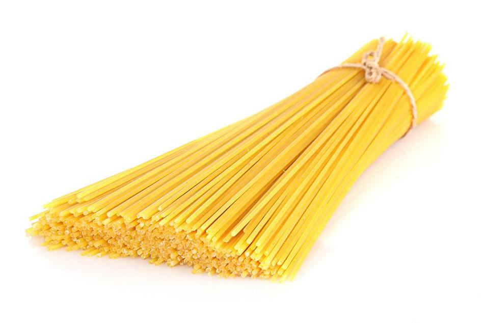 Proizvod špagete vezane u snopić