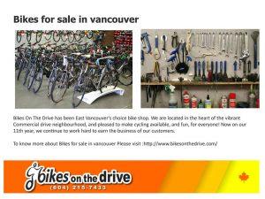 Radionica i prodavnica firme Bikes on the drive iznutra