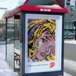 Umetnička dela od bojica, pastela i flašica: reklamiranje firme Deserres i proizvoda za umetnike - slicica