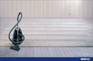 Usisivač Beko BKS-2620 trbušasti violinski ključ čisti tepih: reklamiranje firme