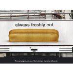 Vekna hleba iseckana na kriške bilbordom - reklamiranje firme wakkere baker - slicica