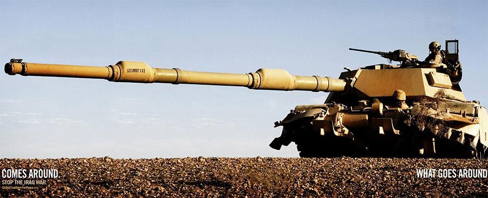 Vojnici u tenku nišane cev uperena u neki drugi tenk GKzM