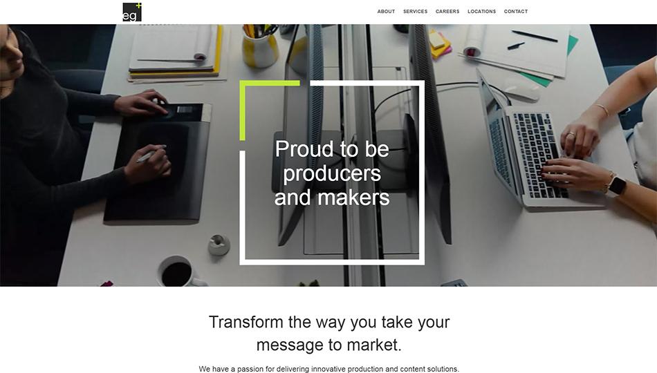 Web sajt eg+ firme