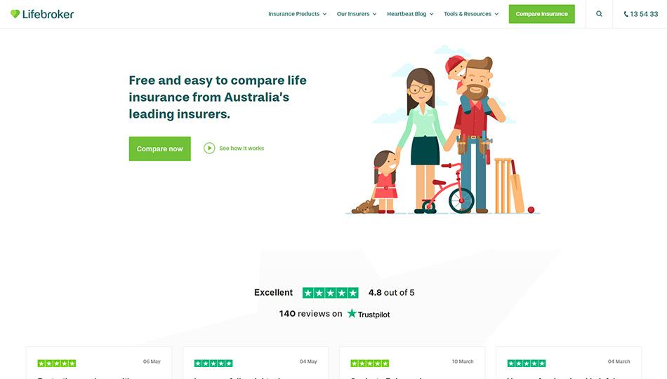 Web sajt firme Lifebroker