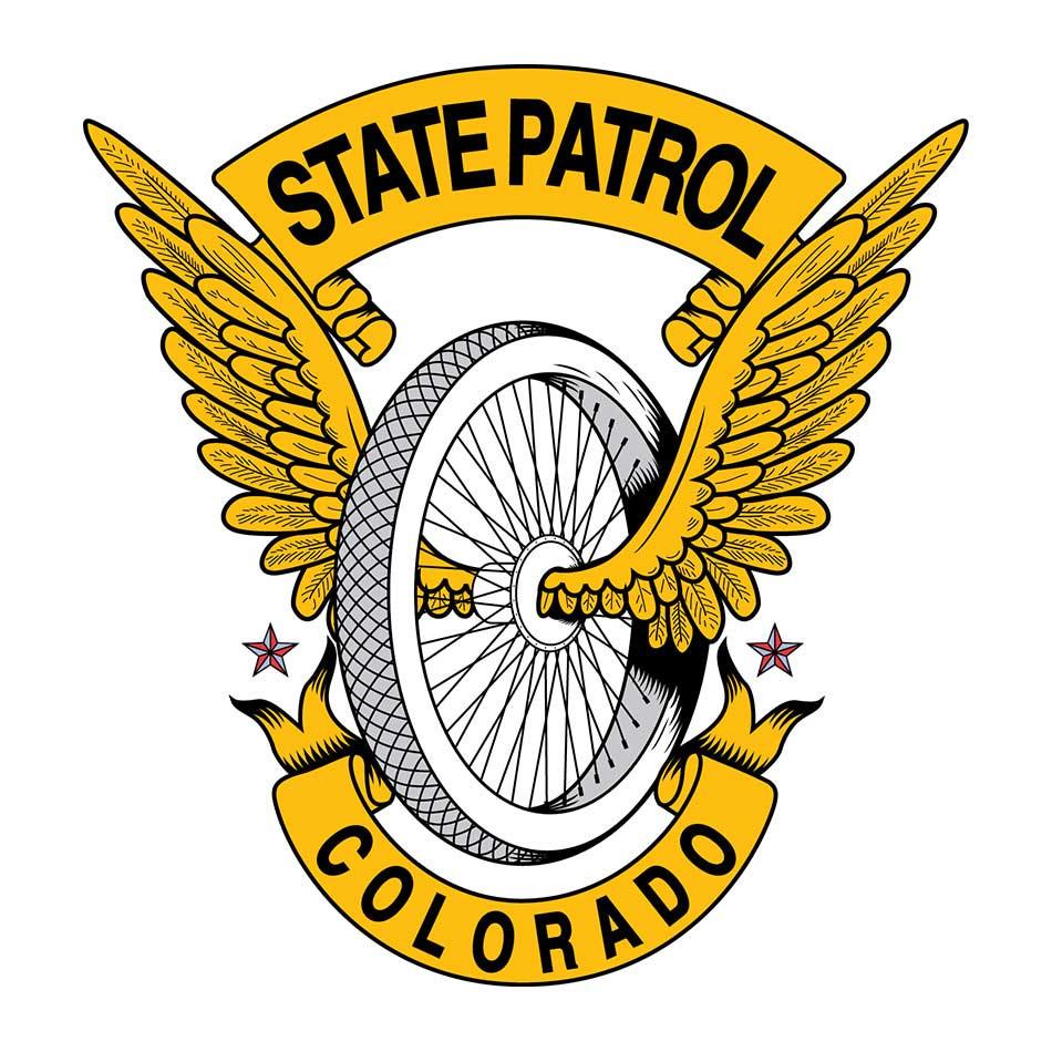 Zaštitni znak i logo objedinjeni: Colorado State Patrol-a