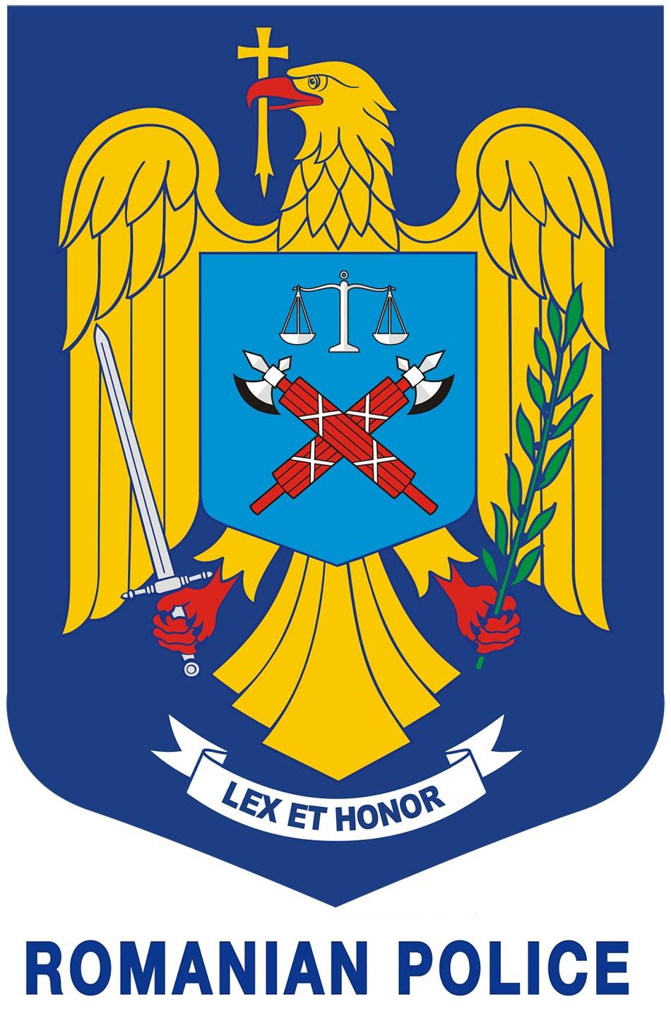 Zaštitni znak, grb i logo Romanian Police