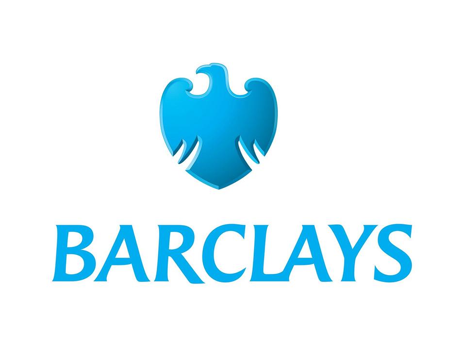 Znak i logo Barclays firme