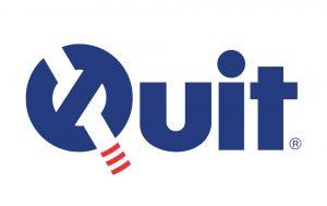 Znak i logo Quit